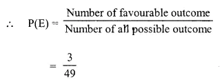 Selina Concise Mathematics Class 10 ICSE Solutions Chapter 25 Probability Ex 25C Q8.1