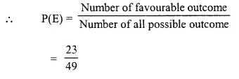 Selina Concise Mathematics Class 10 ICSE Solutions Chapter 25 Probability Ex 25C Q8.3