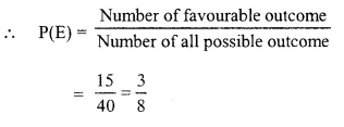Selina Concise Mathematics Class 10 ICSE Solutions Chapter 25 Probability Ex 25C Q9.1
