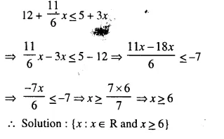 Selina Concise Mathematics Class 10 ICSE Solutions Chapter 4 Linear Inequations Ex 4A 10.1