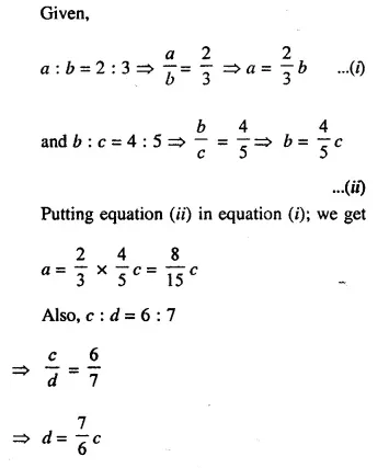 Selina Concise Mathematics Class 10 ICSE Solutions Chapterwise Revision Exercises Q33.1