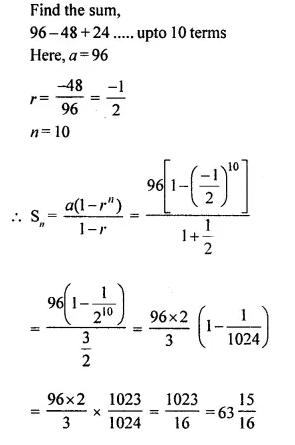 Selina Concise Mathematics Class 10 ICSE Solutions Chapterwise Revision Exercises Q53.1