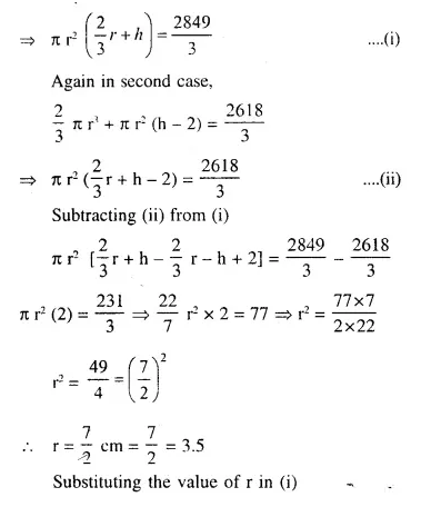 Selina Concise Mathematics Class 10 ICSE Solutions Chapterwise Revision Exercises Q93.2