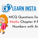 MCQ Questions for Class 7 Maths Chapter 9 Rational Numbers with Answers