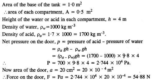 NCERT Solutions for Class 11 Physics Chapter 10 Mechanical Properties of Fluids 18