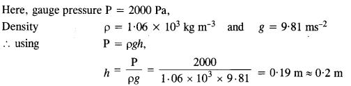 NCERT Solutions for Class 11 Physics Chapter 10 Mechanical Properties of Fluids 21