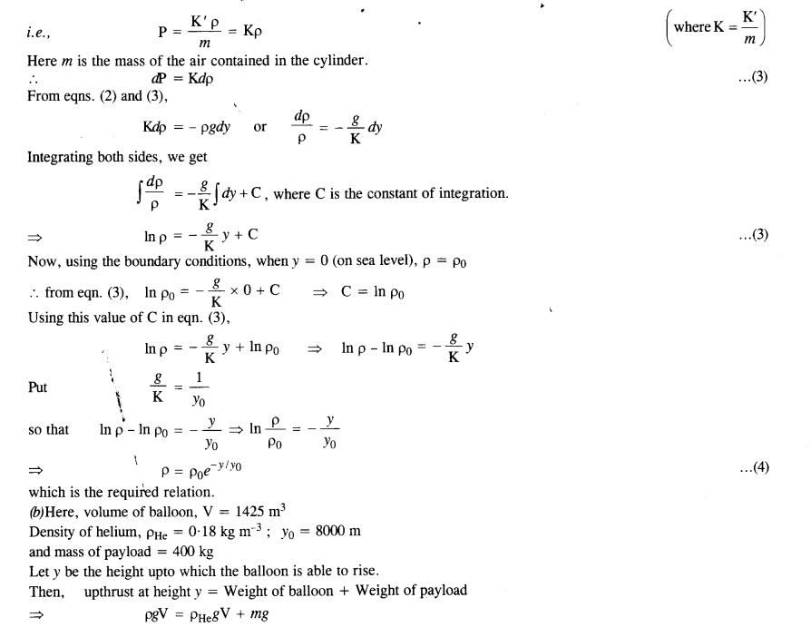 NCERT Solutions for Class 11 Physics Chapter 10 Mechanical Properties of Fluids 29