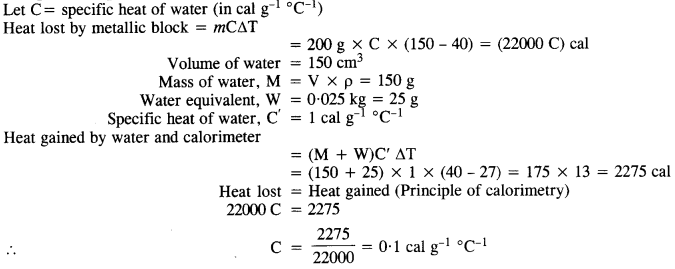 NCERT Solutions for Class 11 Physics Chapter 11 Thermal Properties of Matter 13