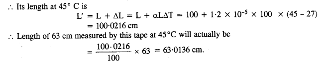 NCERT Solutions for Class 11 Physics Chapter 11 Thermal Properties of Matter 6