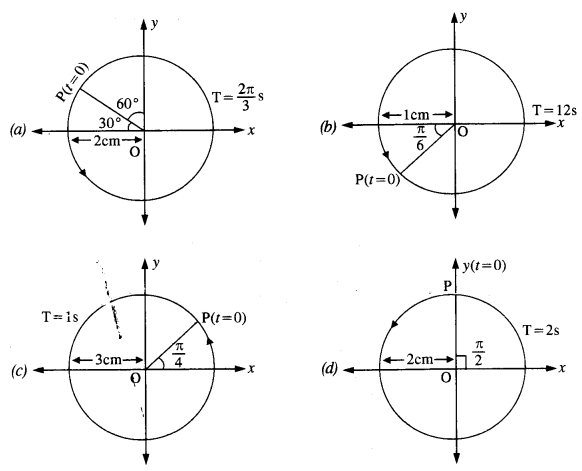 NCERT Solutions for Class 11 Physics Chapter 14 Oscillations 12