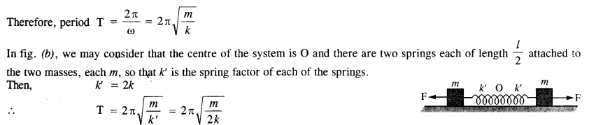 NCERT Solutions for Class 11 Physics Chapter 14 Oscillations 15