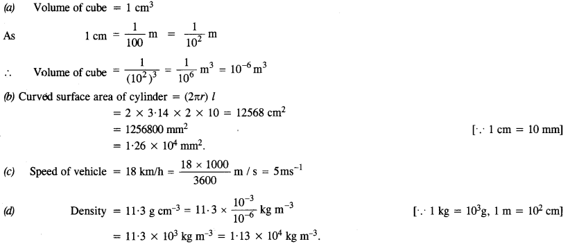 NCERT Solutions for Class 11 Physics Chapter 2 Units and Measurement 1