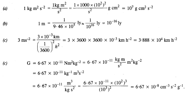 NCERT Solutions for Class 11 Physics Chapter 2 Units and Measurement 2