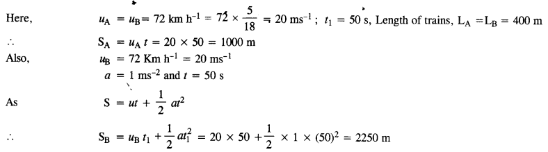 NCERT Solutions for Class 11 Physics Chapter 3 Motion in a Straight Line 5