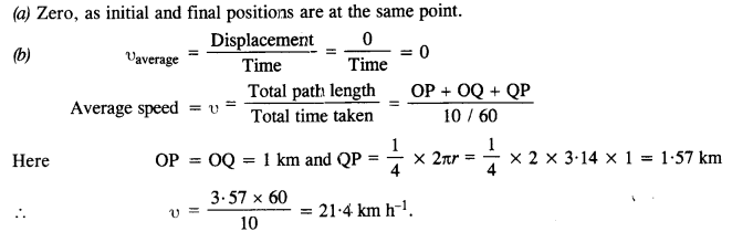 NCERT Solutions for Class 11 Physics Chapter 4 Motion in a Plane 11