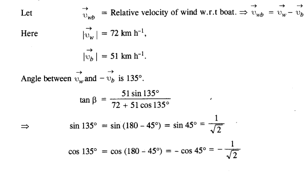 NCERT Solutions for Class 11 Physics Chapter 4 Motion in a Plane 22