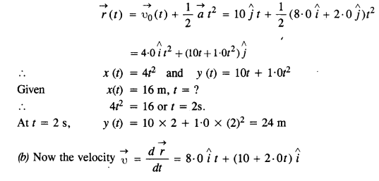 NCERT Solutions for Class 11 Physics Chapter 4 Motion in a Plane 29