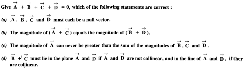NCERT Solutions for Class 11 Physics Chapter 4 Motion in a Plane 7