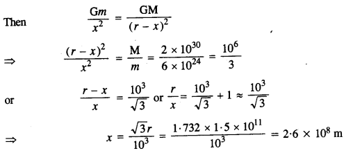 NCERT Solutions for Class 11 Physics Chapter 8 Gravitation 10