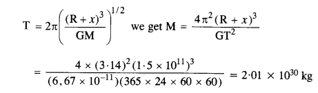 NCERT Solutions for Class 11 Physics Chapter 8 Gravitation 11
