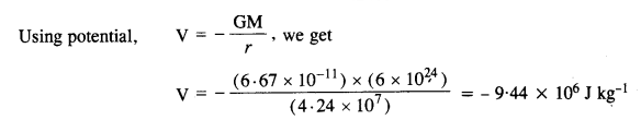 NCERT Solutions for Class 11 Physics Chapter 8 Gravitation 22