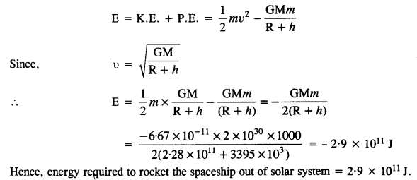 NCERT Solutions for Class 11 Physics Chapter 8 Gravitation 25