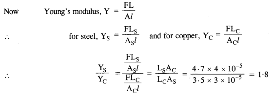 NCERT Solutions for Class 11 Physics Chapter 9 Mechanical Properties of Solids 1