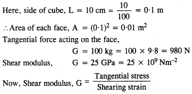 NCERT Solutions for Class 11 Physics Chapter 9 Mechanical Properties of Solids 8