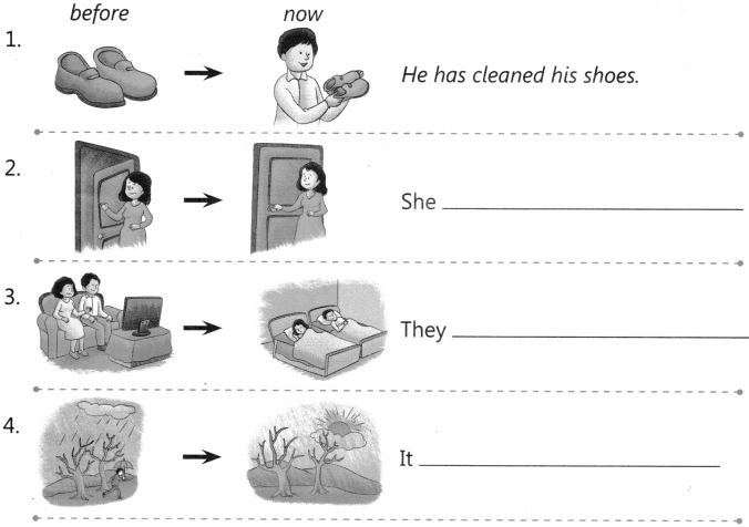 Past Perfect Tense Worksheet with Answers for Class 4 CBSE PDF 3