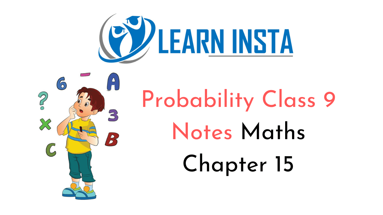 Probability Class 9 Notes