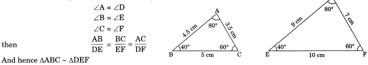 Triangles Class 10 Notes Maths Chapter 6 4