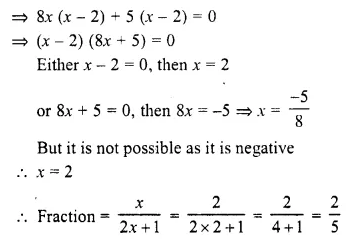 Selina Concise Mathematics Class 10 ICSE Solutions Chapter 6 Solving Problems Ex 6A Q10.2