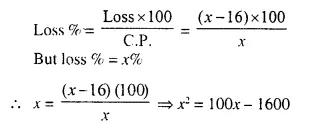 Selina Concise Mathematics Class 10 ICSE Solutions Chapter 6 Solving Problems Ex 6C Q8.1