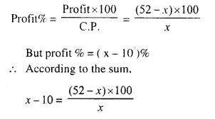 Selina Concise Mathematics Class 10 ICSE Solutions Chapter 6 Solving Problems Ex 6C Q9.1
