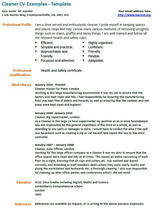 Resumes For Housekeeping. Housekeeping Description For Resumes