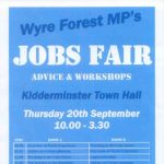 Wyre Forest Jobs Fair – Second jobs fair for Wyre Forest