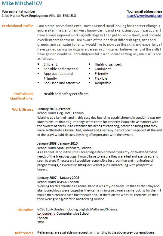 career change resumes and cover letters. smlf sample resume recent ...