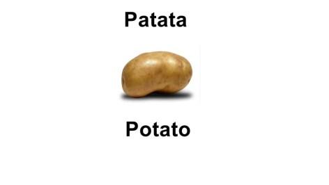 Names of vegetables - potato