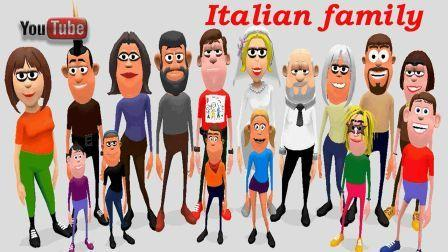 names of family members in italian