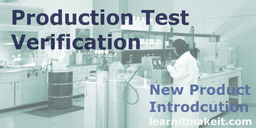 NPI Production Test Verification