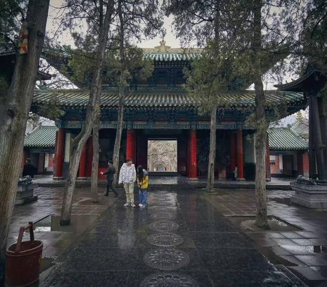 Pátio do templo
