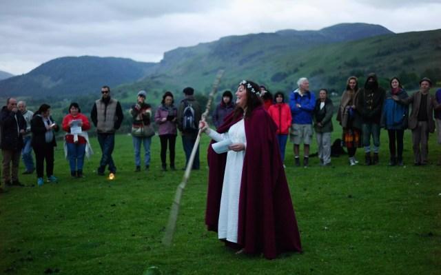 Sărbătorirea solstițiului de vară la Castlerigg