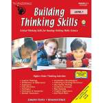 Cover image of the building thinking skills workbook