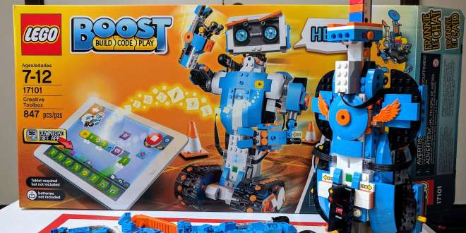 Learn Coding and Robotics with LEGO Boost Creative Toolbox | Learn ...