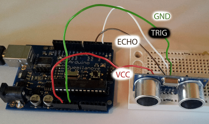 Robotics challenge ultrasonic sensor learn