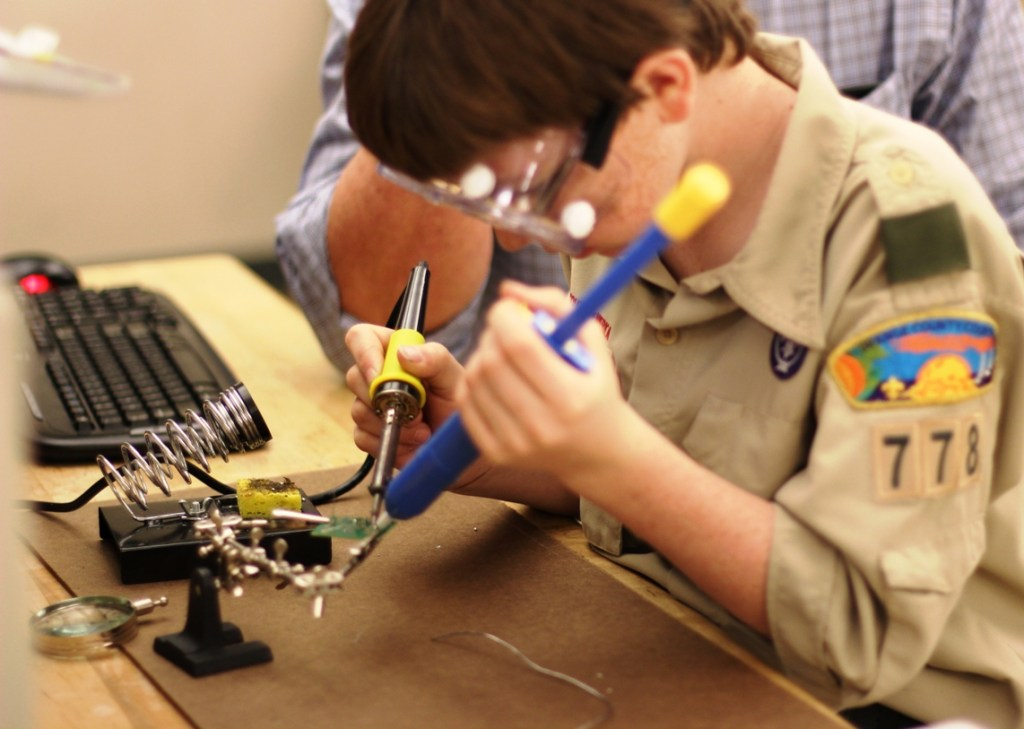 Robotics For Boy Scout Troops Learn Robotics