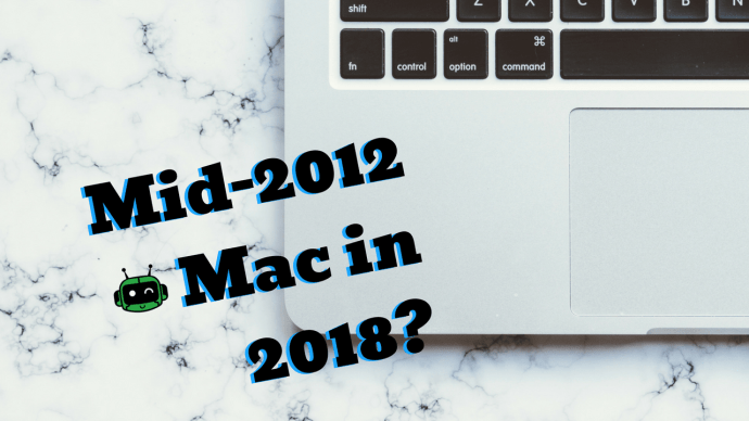 Upgrading the mid-2012 MacBook Pro