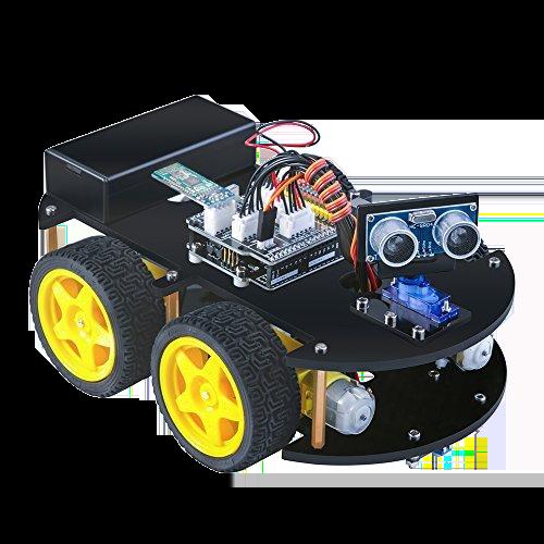 facing right robot car