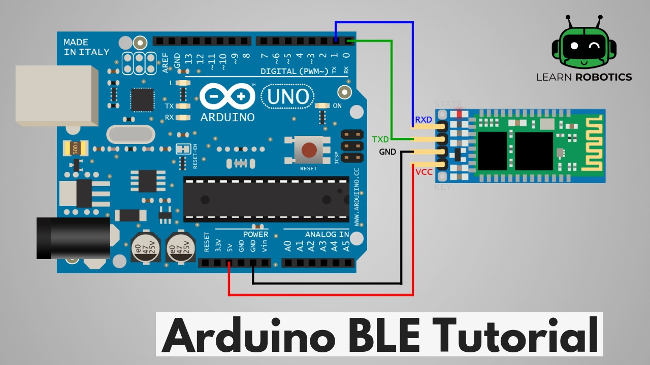 Bluetooth Low Energy (BLE) Tutorial for Arduino