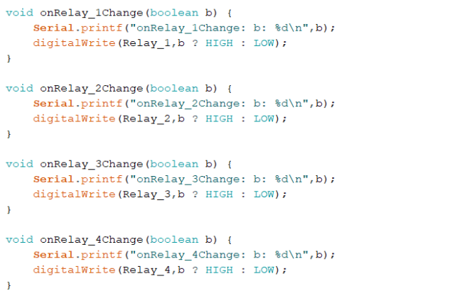 example code for relay web app